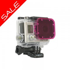magenta Cube SALE 240x240 Polar Pro Hero5 / Hero6 Magenta Filter Super Suit