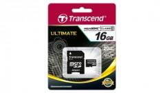 Transcend Micro SD kaart 16GB Class 10