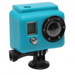 GoPro silicone cover blue 240x240 GoPole Base