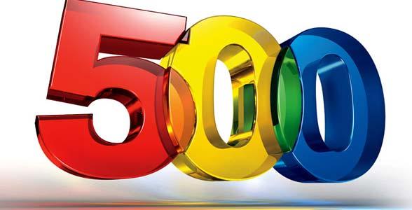 5001 Winnaar 500e bestelling bekend!