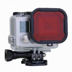 Hero 3+ rood filter 240x240 Polar Pro Hero, Hero5/6 Magenta Filter Super Suit