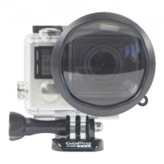 GoPro Hero4 Macro Lens 500x400 240x240 Polar Pro Hero5 / Hero6 Magenta Filter Super Suit