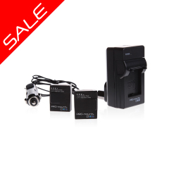 battery kit 3 SALE 240x240 GoPro Dual Battery Charger + Battery Hero5 / 6 / 7