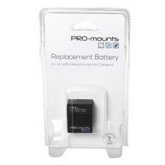 PRO-mounts Replacement Battery Hero3 / 3+