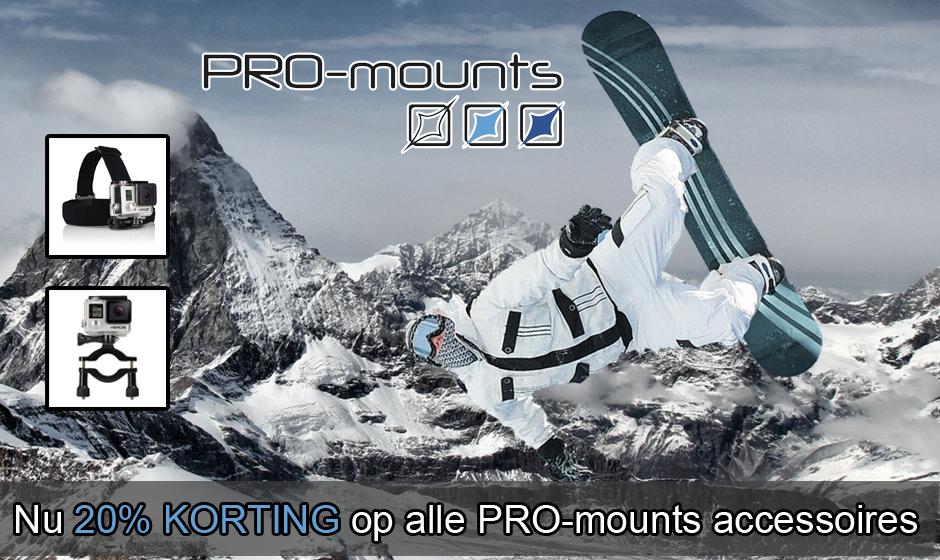 Pro-mounts korting